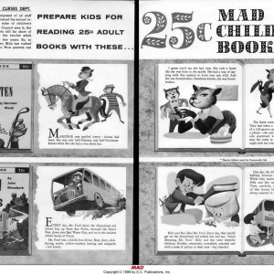 Mad Childrens Books (pgs 1&2)  Mad #42 (1958) by Bob Clarke
