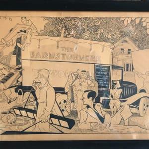 The Barnstormers by Al Hirschfeld