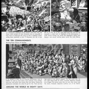 Movies are Longer Than Ever - Mad #32 (1957) by Wally Wood