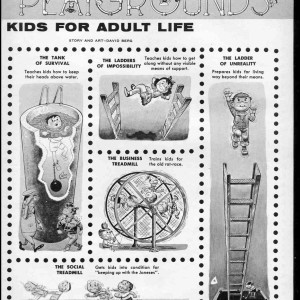 Mad Playgrounds - Mad #50 by Dave Berg