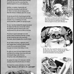 The Night Before Christmas - Mad #52 (1960) by Wally Wood
