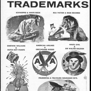 Trademarks Resulting From Future Mergers - Mad #84 (1964) by Wally Wood