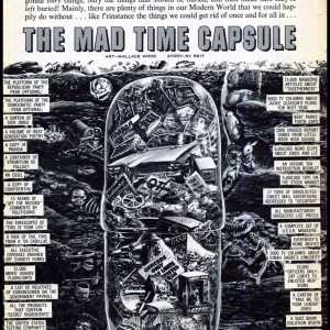 Mad Time Capsule  - Mad #50 (1959) by Wally Wood