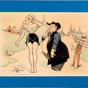 Li'l Abner Specialty Illustration  (1960's) by Al Capp