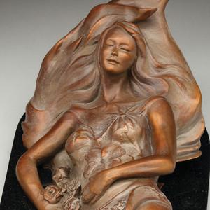 Flower Bed by Phyllis Mantik deQuevedo