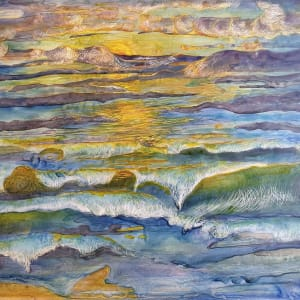 Imaginary Oceanscape by Kit Hoisington