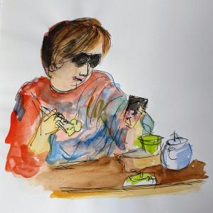 Brekkie Shades Phone by Kit Hoisington