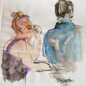 Her Profile His Back by Kit Hoisington