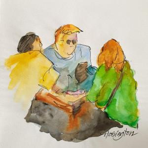 Three at Table