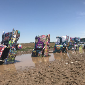 Intervention Cadillac Ranch