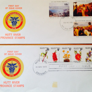 2 Hutt River Province First Day Covers