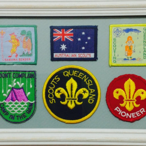 Scout patches 6 of
