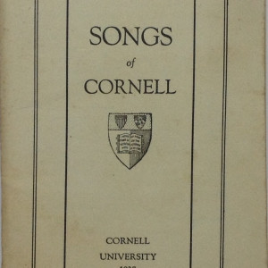 "Songs of Cornell ""University"". 1927"