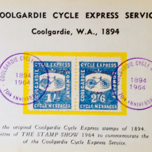 Cool hardier Cycle Express Service 1894