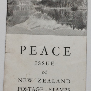 Peace Issue of New Zealand Stamps 1946