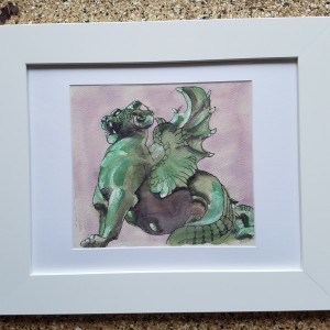 Saint Michael's Dragon: Fontaine Saint-Michel, Paris